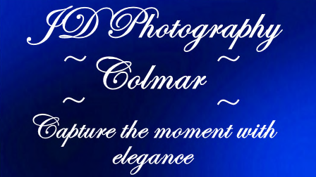 JD Photography Colmar Logo with tagline Capture the moment with elegance