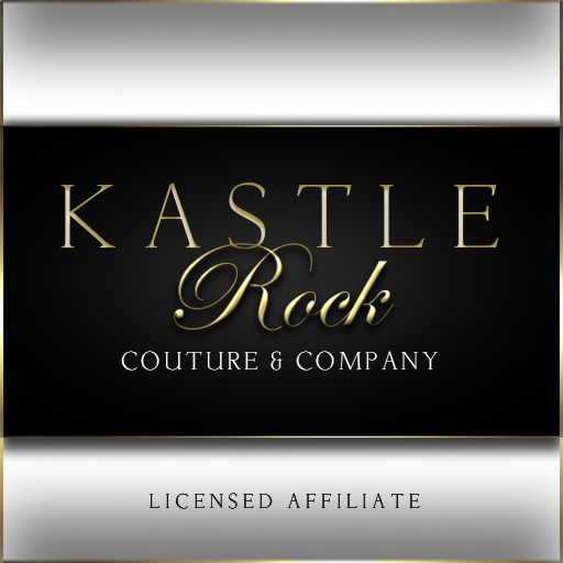 Kastle Rock Couture & Company Logo with tag line Licensed Affiliate