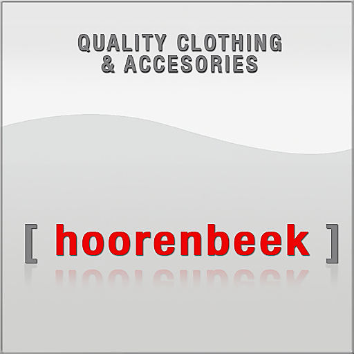 Hoorenbeek logo with supertext Quality Clothing & Accessories